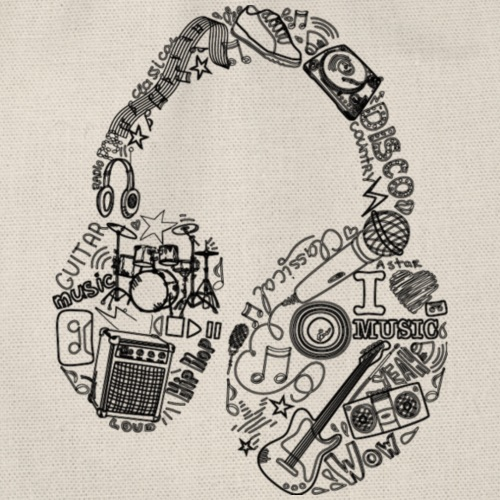 Música - Mochila saco