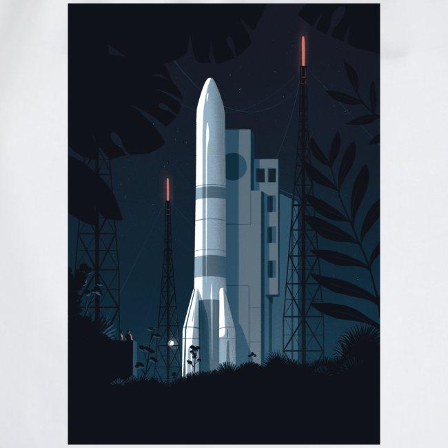 Ariane 6 - At night By Tom Haugomat