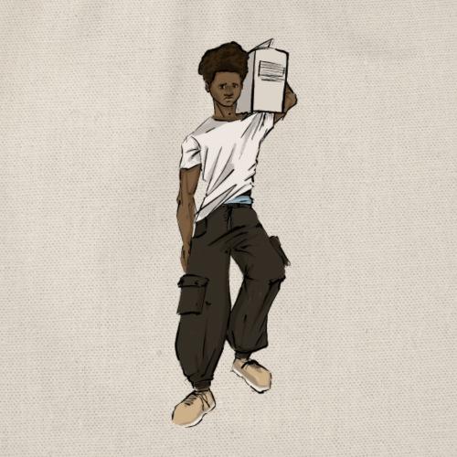B boy - Drawstring Bag