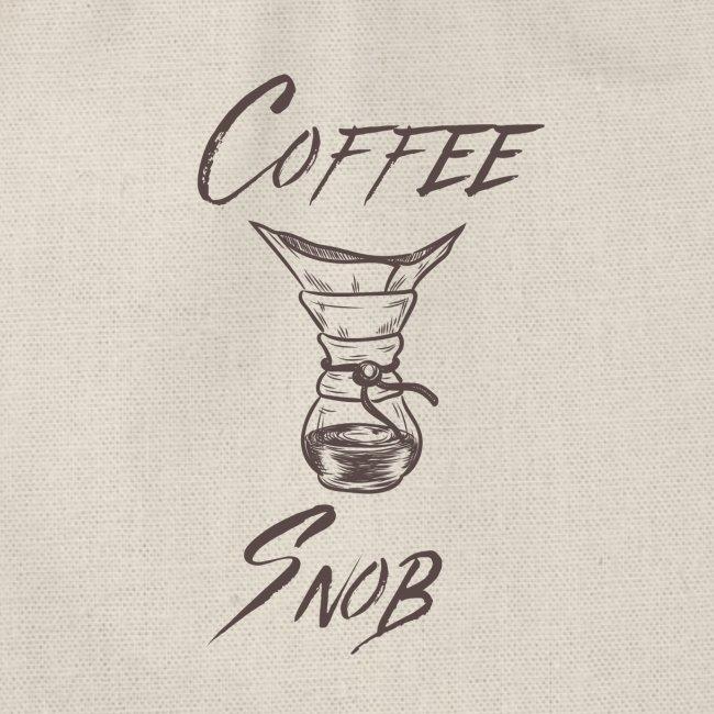 Coffee Snob brewing tee