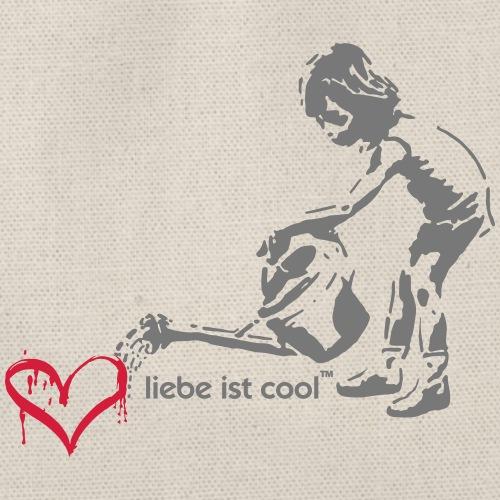 liebe ist cool - Turnbeutel
