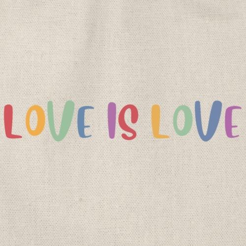 LOVEI is LOVE - Mochila saco