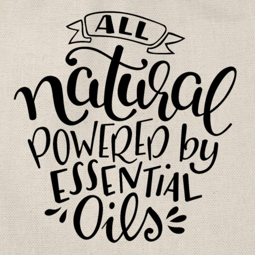 All Natural Powered By Essential Oils - Turnbeutel