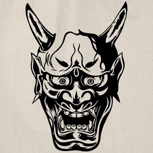 Máscara Hannya, vector - Mochila saco