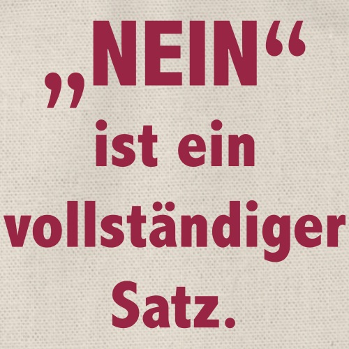 Nein_vollstaendiger_Satz - Turnbeutel