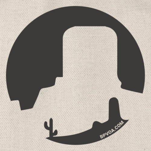 Logo French Wester noir - Sac de sport léger