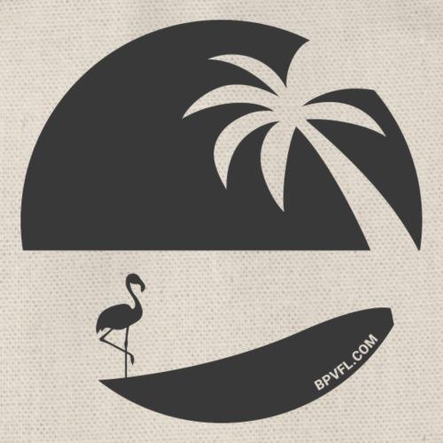 Logo French Floridian noir - Sac de sport léger