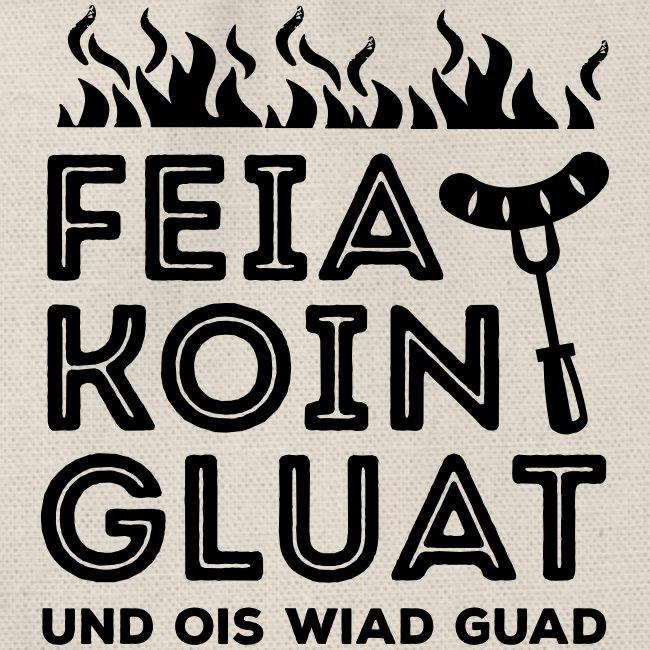 Vorschau: Feie Koin und Gluat - Turnbeutel