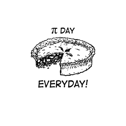 PIE DAY EVERYDAY! - Sacca sportiva