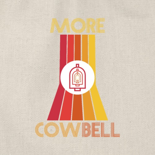 more cowbell - Drawstring Bag