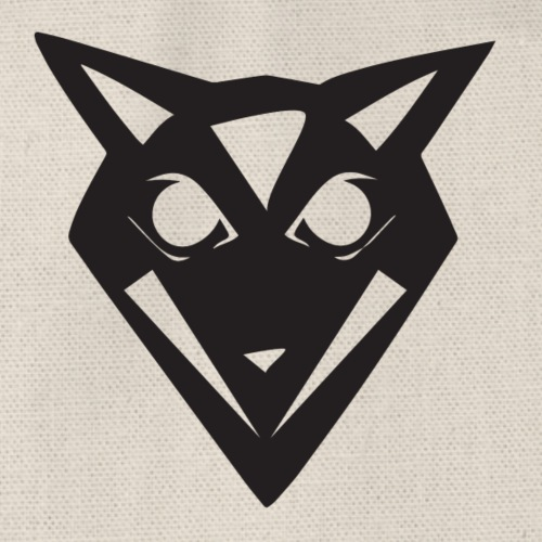 Wizarding Wolf Logo - Without Text - Turnbeutel
