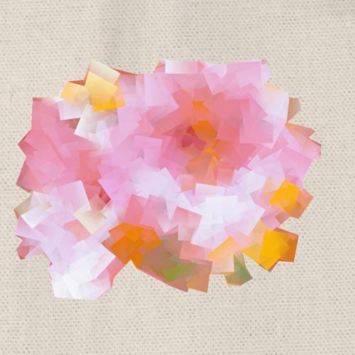 rose trémière pastelle - Sac de sport léger