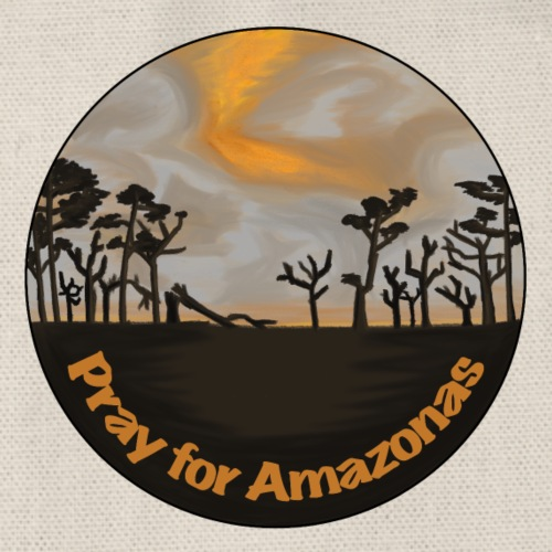 Pray for Amazonas - Turnbeutel