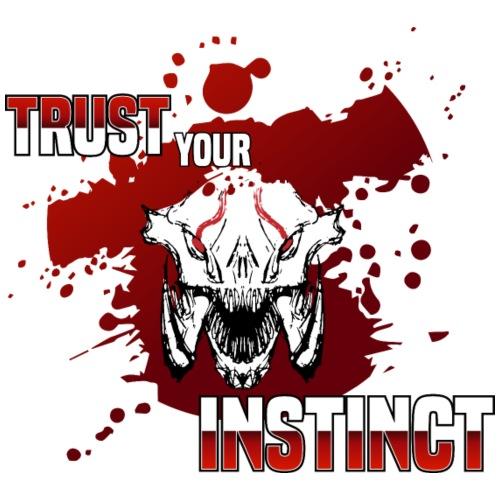 Trust your Instinct - Turnbeutel
