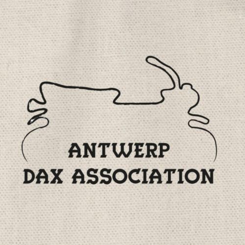 ADA DAX Logo Klein Zwart - Gymtas