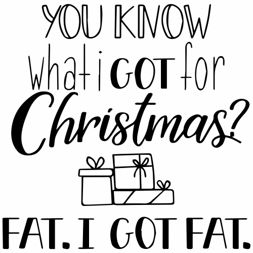 Christmas fat - Gymtas