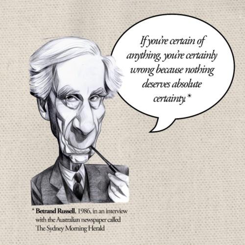Bertrand Russell on certainties - Turnbeutel
