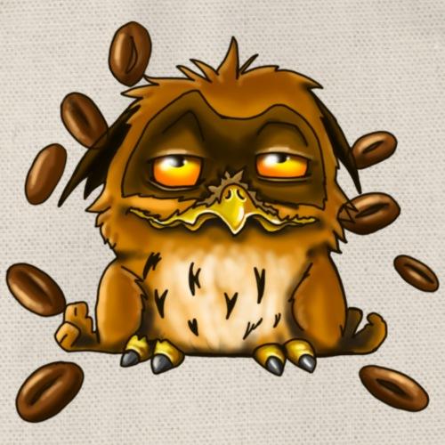 Guten Morgen Kaffee Eule - Turnbeutel