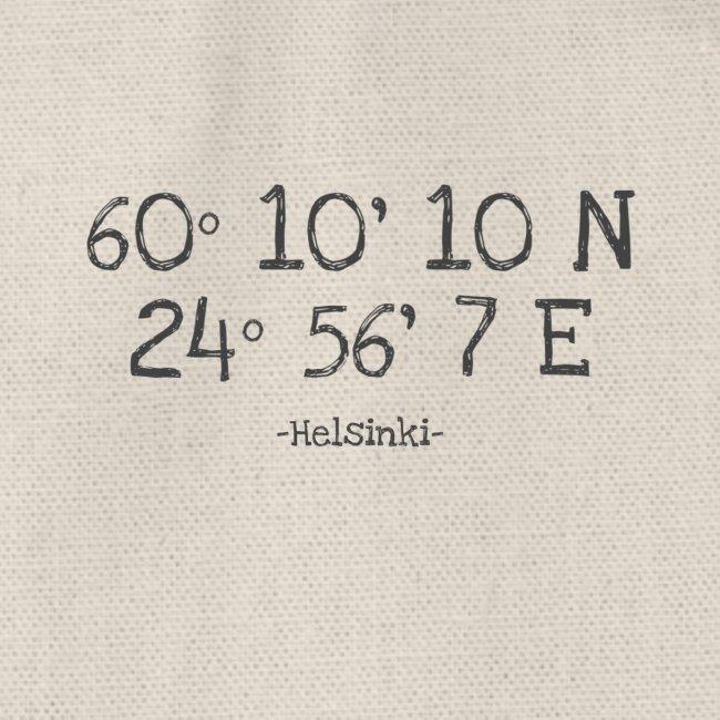 Helsinki Koordinaten