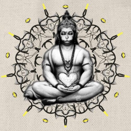 Hanuman Shirt2 - Turnbeutel