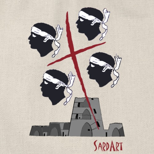4 Mori - La bandiera sarda con nuraghi
