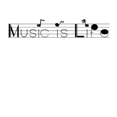 music is life - Sac de sport léger