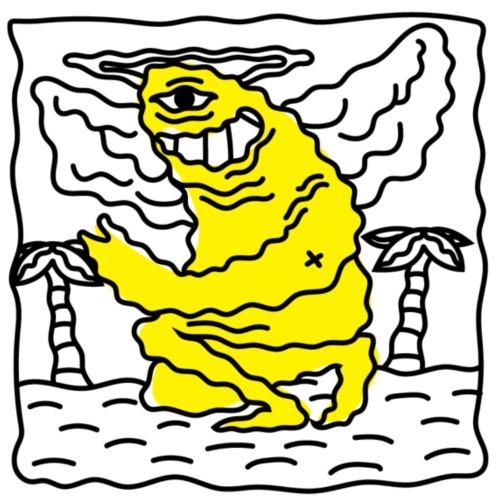 Yellow character - Sac de sport léger