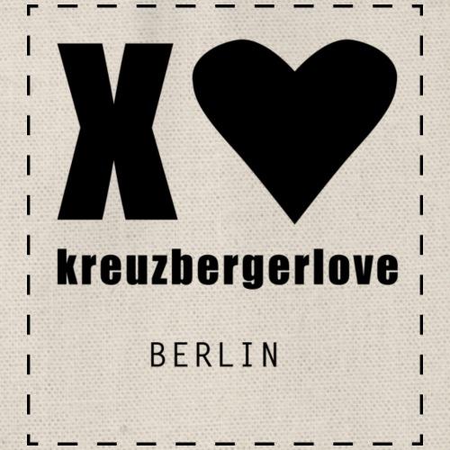 Logo kreuzbergerlove - Turnbeutel