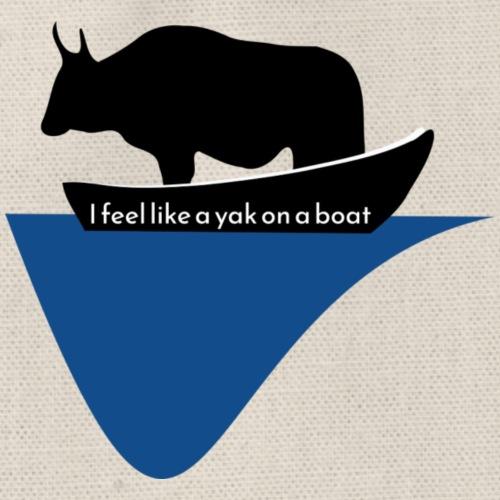 I feel like a yak - Sac de sport léger