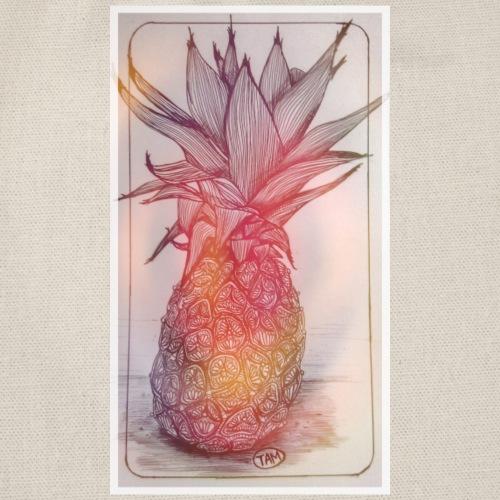 Ananas - Végétal Concept - Sac de sport léger