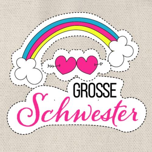 Große Schwester Regenbogen - Turnbeutel