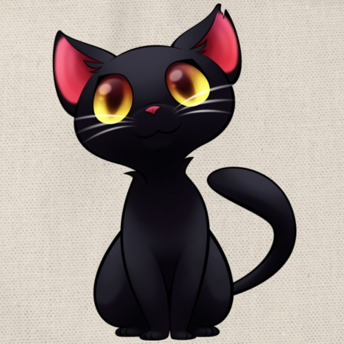 Black Cat - gatto nero - Sacca sportiva