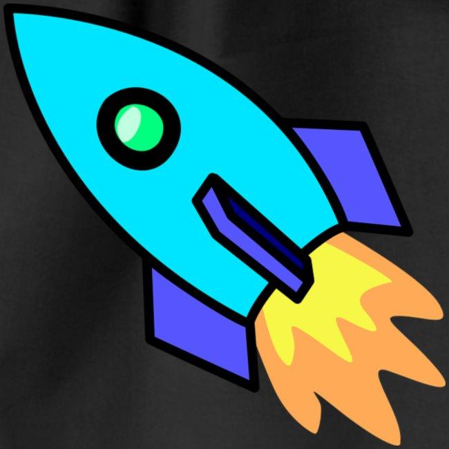 Blue rocket