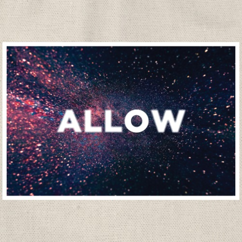 ALLOW - Drawstring Bag