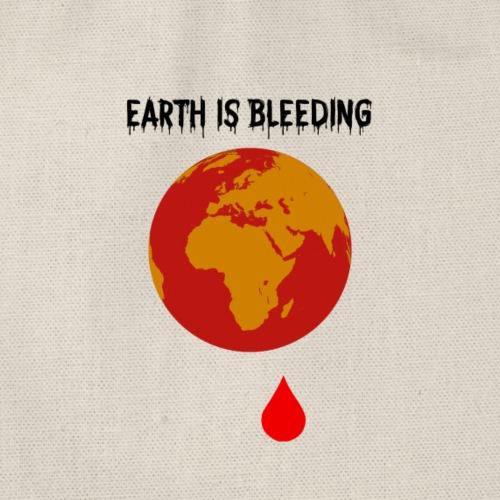 Earth is bleeding - Sac de sport léger