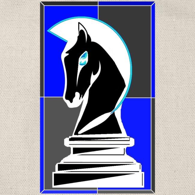 cavallo Scacchi Vers 2 Colori Invertiti