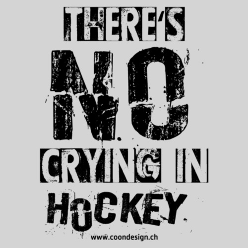 There's no crying in Hockey - Turnbeutel