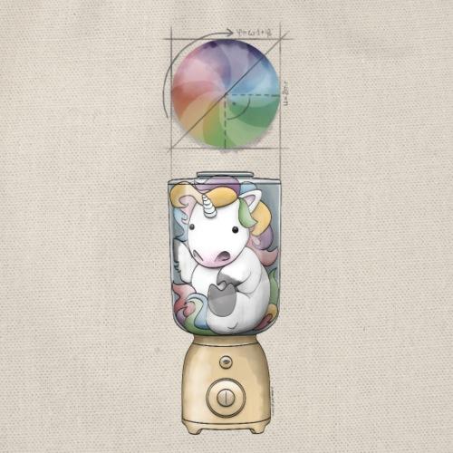Das Regenbogenrädchen - Turnbeutel