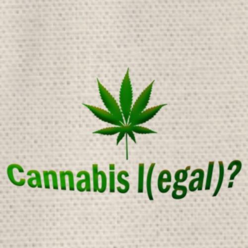 Cannabis l(egal) legal Hanfblatt - Turnbeutel