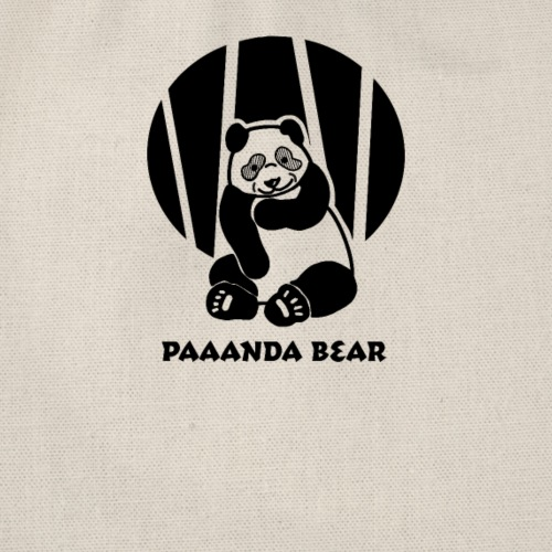 Panda Bär T-shirt - Paaanda Bear - Turnbeutel