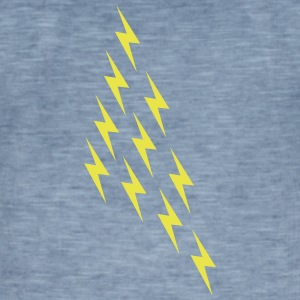Lightning magi magi Thor Viking Big Bang Geek - Herre vintage T-shirt