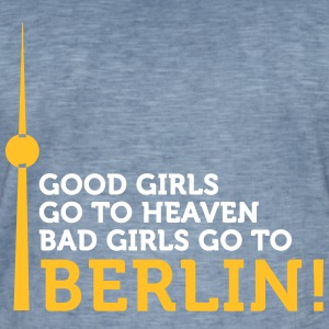 Bad Girls Gå till Berlin! - Vintage-T-shirt herr