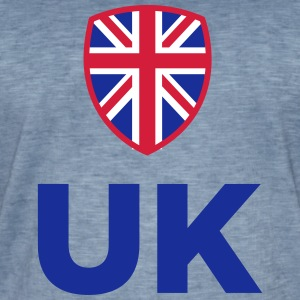 National Flag Of The United Kingdom - Men's Vintage T-Shirt