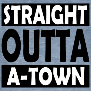 Straight Outta A-Town - Herre vintage T-shirt