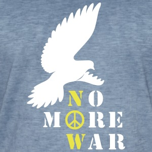 No More War Now Silhouette - Männer Vintage T-Shirt