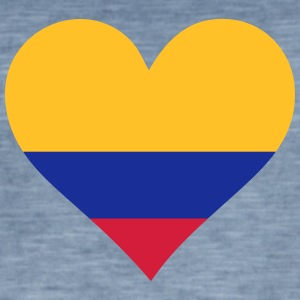 A Heart For Colombia - Men's Vintage T-Shirt