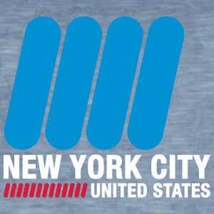 New York City, États-Unis - T-shirt vintage Homme
