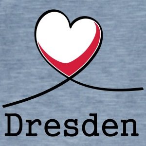 I love Dresden! - Men's Vintage T-Shirt