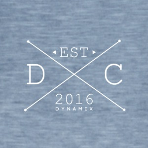 Dynamix_Clothing_Logo_White _-_ 600_dpi - Vintage-T-skjorte for menn