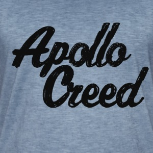 T-tröja i distrikt IRON - Apollo Creed Homage - Vintage-T-shirt herr